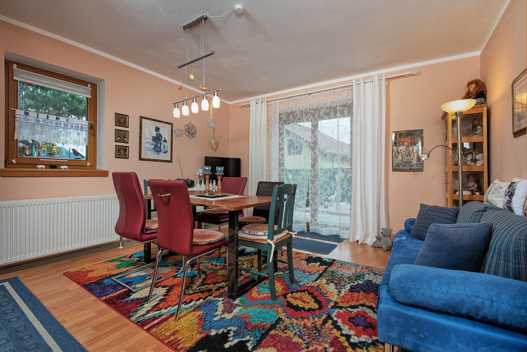 Apartment mit 2 Zimmern und Terrasse