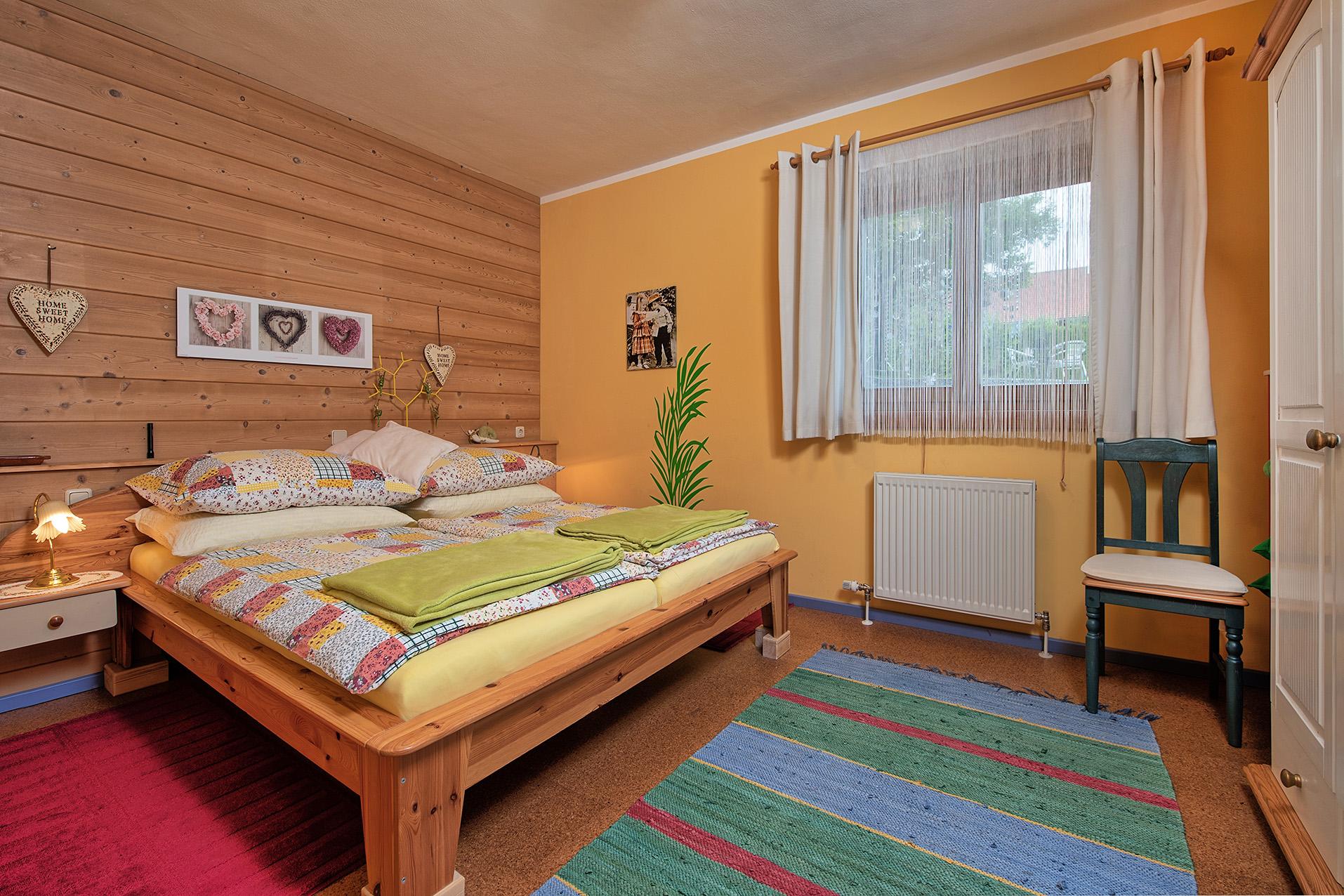 Apartment mit zwei Zimmern und Terrasse